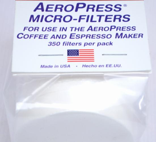 Recambio de filtros para AeroPress