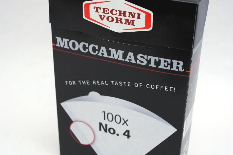 Filtros de café nº4 Moccamaster