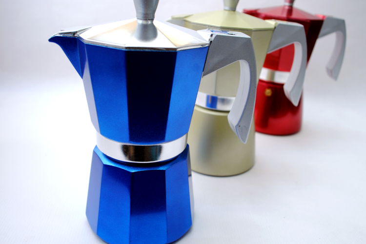 Cafetera italiana para inducción Evva de Ibili