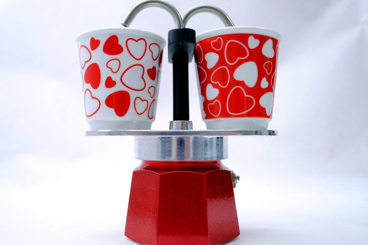 Set Bialetti Mini Express Cuore