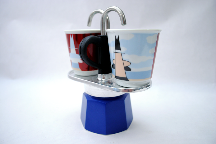 Set Bialetti Mini Express Magritte
