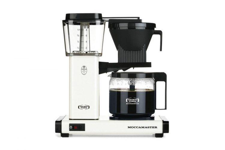 Cafetera Moccamaster HBG Blanca