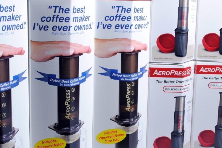 AeroPress, l'inventu del sieglu